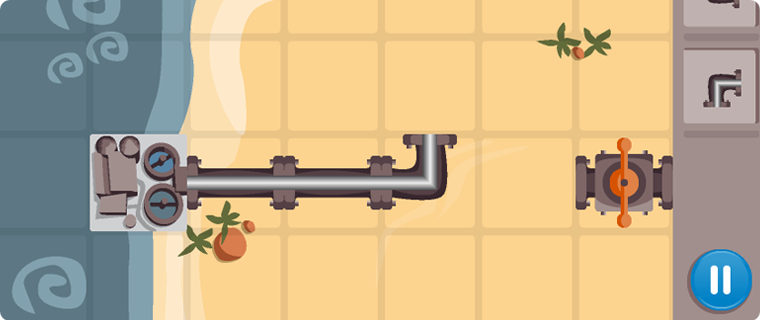 PipeFiction - a sneak preview of a level